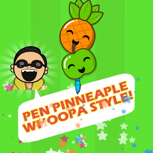 Игра Super Pineapple Pen