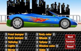 Игра Тюнинг Convertible Supercar