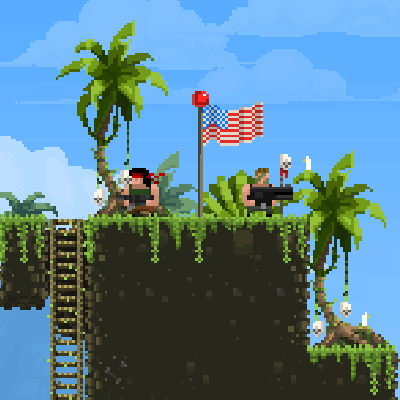 Игра Broforce